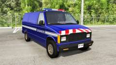Gavril H-Series Police Nationale v1.4 for BeamNG Drive