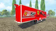 Semi-Scuderia Ferrari for Farming Simulator 2015