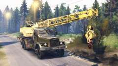 KrAZ 257 KS 4561 v2.0 for Spin Tires