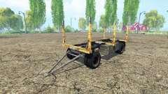 Forest trailer GKB for Farming Simulator 2015