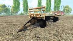 The platform trailer for Farming Simulator 2015