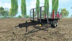 Timber trailer BRANTNER