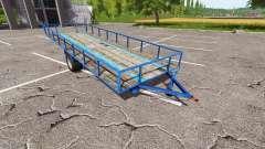 Trailer for wood transport v0.5 for Farming Simulator 2017