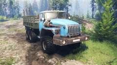 Ural 4320-10 v4.0 for Spin Tires