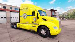 Skin Los Pollos Hermanos truck on a Peterbilt 57