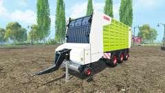 CLAAS Cargos 9600 for Farming Simulator 2015