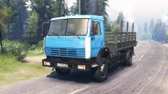 KamAZ 43253 for Spin Tires