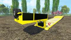 Low bed trawl Doll for Farming Simulator 2015