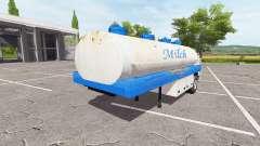 The semitrailer-tank for Farming Simulator 2017
