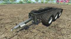 Krampe trailer chassis for Farming Simulator 2015