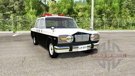 Ibishu Miramar Japanese Police for BeamNG Drive