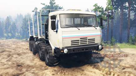 KamAZ Sibir for Spin Tires