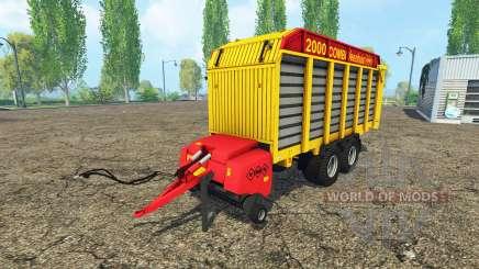 Veenhuis Combi 2000 for Farming Simulator 2015