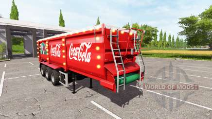Krampe SB 30-60 Christmas Coca-Cola v1.2 for Farming Simulator 2017