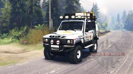 The UAZ 3170 Terra for Spin Tires