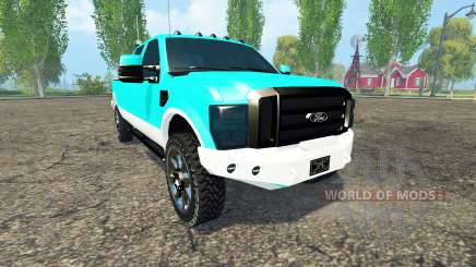 Ford F-250 FX4 king ranch for Farming Simulator 2015