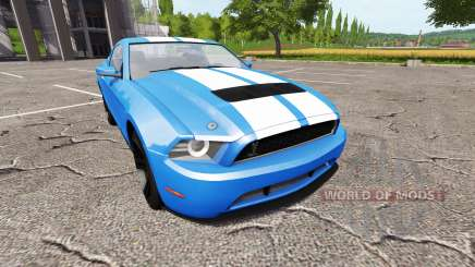 Ford Mustang Shelby GT v1.1 for Farming Simulator 2017