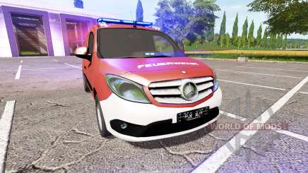 Mercedes-Benz Citan Kastenwagen (W415) for Farming Simulator 2017