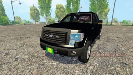 Ford F-150 Unmarked Police for Farming Simulator 2015