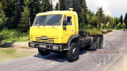 KamAZ 54115 v6.0 for Spin Tires