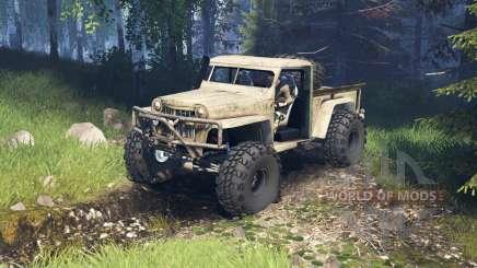 Willys Pickup Crawler 1960 v2.1.4 for Spin Tires