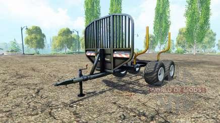 Timber trailer v0.9.1 for Farming Simulator 2015