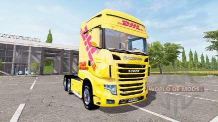 Scania R700 Evo DHL for Farming Simulator 2017