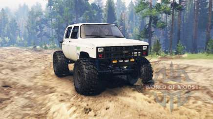 Chevrolet K30 crawler for Spin Tires