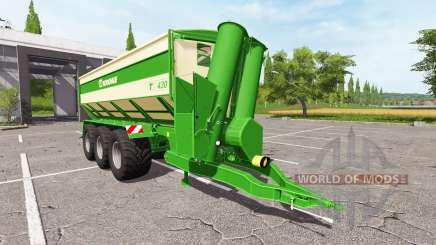 Krone TX 430 v1.0.1 for Farming Simulator 2017