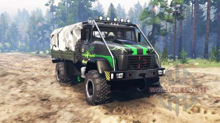 KrAZ 5131 v2.0 for Spin Tires