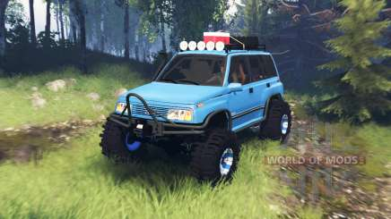 Suzuki Grand Vitara v5.0 for Spin Tires