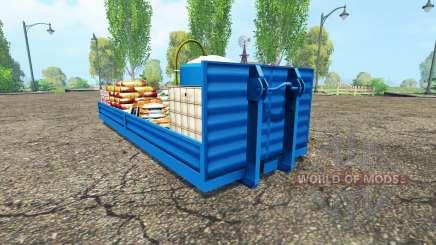 Service platform v1.0.1 for Farming Simulator 2015
