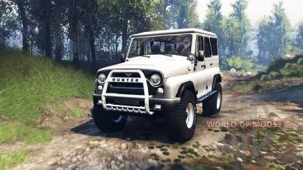 UAZ 315195 hunter v3.0 for Spin Tires