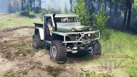 Willys Pickup Crawler 1960 v1.8.5 for Spin Tires