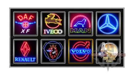 Company logos v1.2 for Euro Truck Simulator 2