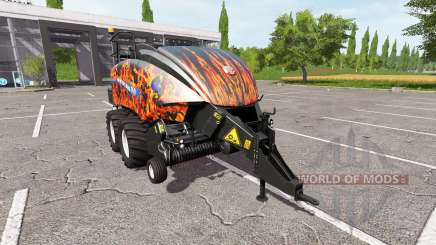 New Holland BigBaler 1290 flame for Farming Simulator 2017