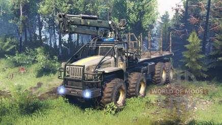 Ural 6614 v5.0 for Spin Tires