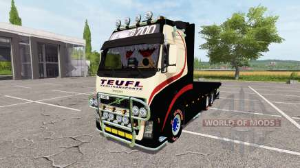 Volvo FH bales v0.1 for Farming Simulator 2017