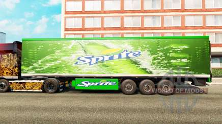 Skins on the trailer for Euro Truck Simulator 2