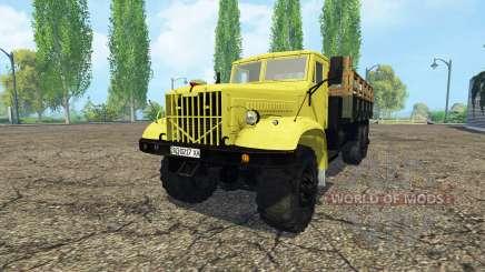 KrAZ 214 for Farming Simulator 2015