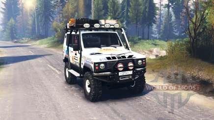 The UAZ 3170 Terra v2.0 for Spin Tires