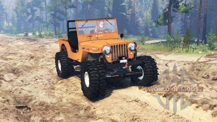 Jeep Willys M38 CJ2A crawler for Spin Tires