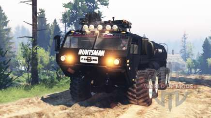 Oshkosh HEMTT M977 Huntsman v2.0 for Spin Tires