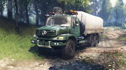 Mercedes-Benz Zetros 2733 A v3.0 for Spin Tires