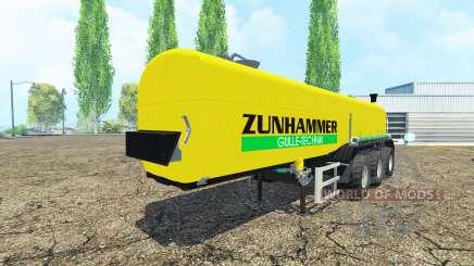 Zunhammer for Farming Simulator 2015