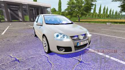 Volkswagen Golf GTI (Typ 1K) Unmarked Police for Farming Simulator 2017