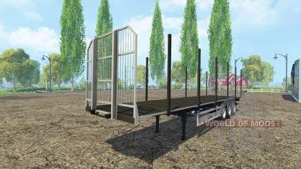 Multipurpose semi-trailer Fliegl v2.0 for Farming Simulator 2015