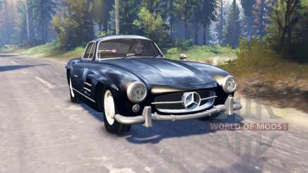 Mercedes-Benz 300 SL (W198) v2.0 for Spin Tires