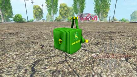 The counterweight John Deere v1.2 for Farming Simulator 2015