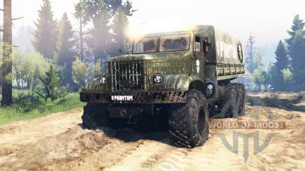 KrAZ 214 v1.1 for Spin Tires